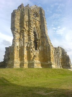 The ruins of Whitby Abbey, Scotland