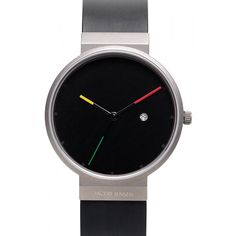 The 640 Titanium Sapphire from Jacob Jensen has a minimalist display typical of the Jacob Jensen brand.  The watch is ultra thin (5mm), light, elegant and sits beautifully on the wrist.     This series has naturaly evolved from the Jacob Jensen Classic series. Minimalism at its best.  £210.00