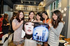 Singapore Beauty Bloggers x White Perfect Laser // L'Oréal Paris