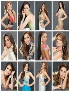 Las Doce Candidatas en Optan al Titulo de Belleza con Proposito.. en el Miss Venezuela Mundo 2015..