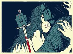 Wolves+-+As+Always+She+Is+Waiting+by+Becky+Cloonan.jpg (1000×750)