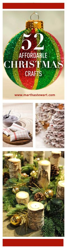 52 Affordable Christmas Crafts | Martha Stewart Living