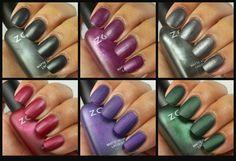 Zoya Matte Velvet Collection