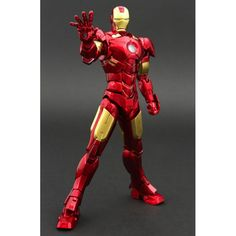 Active Gear Collection 1/9 Scale Pre-Painted PVC Statue: Iron Man.