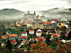 Loket, Czech Republic.  Inexpensive retreat from Prague.