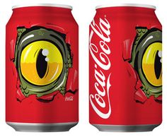 Not sure what this Coca Cola #packaging is all about but I like it. PD