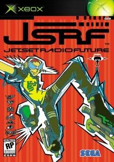 Jet Set Radio Future,love this video game,I must find it again!