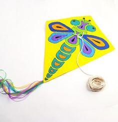 Ateliers créatifs : CERF VOLANT - Papier / Carton - Posca