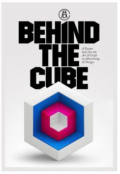 ART DIRECTORS CLUB / BEHIND THE CUBE by MARTA CERDÀ ALIMBAU, via Behance