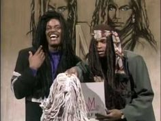 ▶ In Living Color Season 1 Episode 2 - YouTube...lmao.  This was right after they found out Milli Vanilli were frauds.