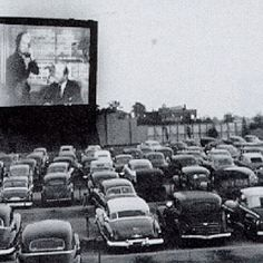 Ahhhh, the good old days - drive-in movies....the best!