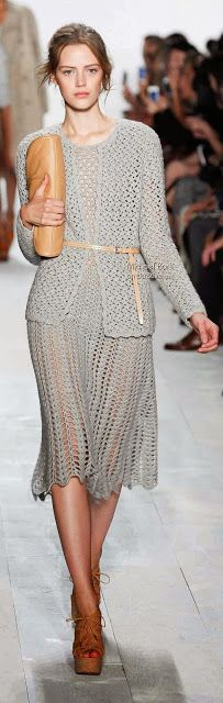 Michael Kors - Crochet Twin Set. (Just to look at ) No pattern