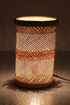 Milliner's Cylinder Lamp - I think I would like the shadows in my bedroom.