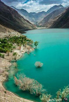 Sadpara Lake skardu gilgit Pakistan                              …