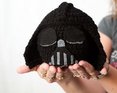 Crochet Hat Star Wars Darth Vader – $27 - thinking that this should come home with me as well!