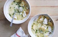 This stew might come together quickly, but it gets plenty of backbone from fennel and white wine.