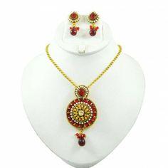 Kundan Pendant Necklace Set Jewelry Goldtone Bollywood Designer Jewellery Sets Bollywood, Women Jewelry, Pendant Necklace, Traditional, Beautiful, Fashion, Moda, Fashion Styles, Fashion Illustrations