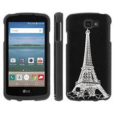 Buy LG [K4] [Optimus Zone3] [LG Spree] [LG Rebel LTE] Phone Case [ArmorXtreme] [Black] Designer Image [Shell Hard Cover] - [Eiffel Paris] for LG [K4] [Optimus Zone3] [LG Spree] [LG Rebel LTE] NEW for 10.95 USD   Reusell