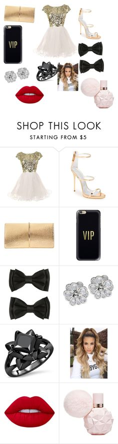 """Prom Night Yay"" by jadamckenzie20 ❤ liked on Polyvore featuring Giuseppe Zanotti, Nina Ricci, Casetify and Lime Crime"