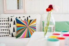 Una casa llena de colores