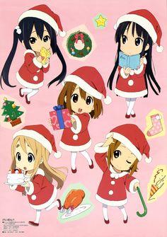 K-On! |Hirasawa Yui, Tainaka Ritsu, Akiyama Mio, Kotobuki Tsumugi, and Nakano Azusa