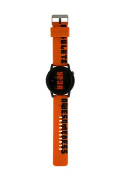 An extra large sized case, this watch has been inspired from T-Shirts and carries an irreverent, tongue-in-cheek message across the strap and dial.. Tees from Fastrack http://www.fastrack.in/product/9912pp12/?filter=yes=tees=19
