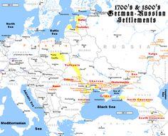 German - Russian settlements