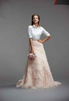 Spring 2015 Wedding Dress Trends With A Pantone Twist
