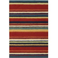 Nourison® Stripes Washable Rectangular Rug  found at @JCPenney