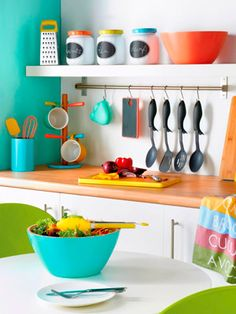 Colorful kitchen tools Great affordable holiday gifts Home