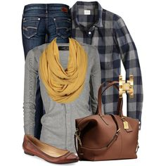 A fashion look from October 2014 featuring J.Crew tops, AllSaints cardigans and Mavi jeans. Browse and shop related looks.