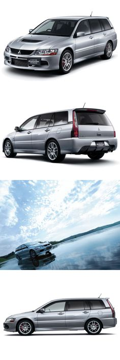 Mitsubishi Lancer Evolution IX Wagon Gt Mitsubishi Wagon, Mitsubishi Motors, Japan Motors, Evo 9, Wagon Cars, Shooting Brake, Mitsubishi Lancer Evolution, Station Wagon, Jdm