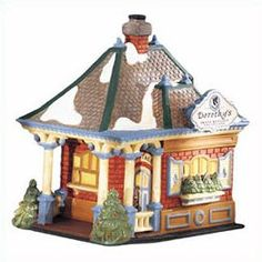 "Department 56: Products - ""Dorothy's Skate Rental"" - View Lighted Buildings"
