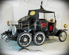 1964 Hannibal 8 Professor Fate The Great Race Movie Car Collection Mp Lafer, Vintage Cars, Antique Cars, Car Throttle, The Great Race, Custom Cars, Custom Trucks, The Villain, Cool Cars