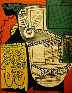 The Chinese Chest of Drawers (La Commode Chinoise), 1953 by Pablo Picasso from Virginia Museum of Fine Arts Pablo Picasso, Picasso Art, Bombing Of Guernica, Trinidad, Cubist Movement, Picasso Paintings, Henri Matisse, Museum Of Fine Arts, Canvas Art Prints