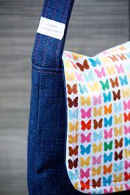 Messenger Bag Tutorial for diaper bag? Much better tutorial