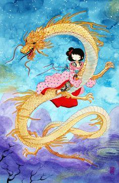 """Stasia Burrington, """"Dragon Girl"""""""