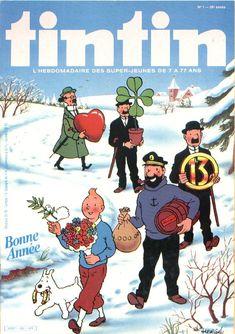 Journal de TINTIN édition Belge N° 1 du 4 Janvier 1983