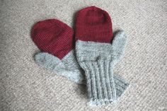 MADE TO ORDER: Men's wool mittens Mittens, Hand Knitting, Wool, Trending Outfits, Unique Jewelry, Handmade Gifts, Etsy, Clothes, Vintage