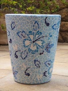 Vaso com mosaico