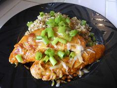 Enchilada chicken - #crockpot