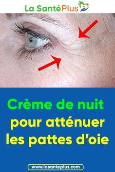 Crème de nuit pour atténuer les pattes d'oie #masquedepersil #pattesd'oie #masquesdebeauté #taches #rides