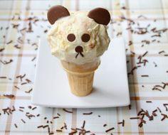 Bear Ice Cream Cone