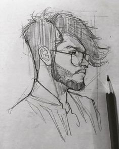 Trendy drawing people reference concept art ideas is part of pencil-drawings - pencil-drawings Pencil Art Drawings, Art Drawings Sketches, Cool Drawings, Human Sketch, Face Sketch, Sketches Of People, Drawing People, Photographie Portrait Inspiration, Anatomy Drawing