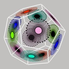 12-flower dodecahedron motion gif