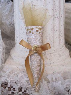 50th Wedding Anniversary Favor Cone by LynnsPartyFavors on Etsy, $2.29