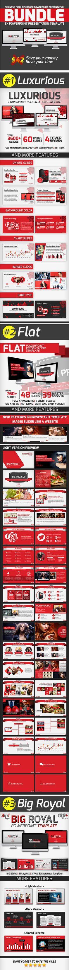 Presentakit Powerteamkit On Pinterest - Luxury food presentation template ideas