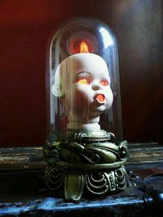 Image result for doll head lamp