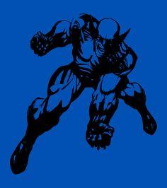 Wolverine Stencil  -Tim Noakes