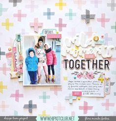 Embellish around your photo using some of the pretties included in the #december2016 #hipkits like designer Flora Monika Farkas beautiful layout! @hipkitclub #hkcexclusives #exclusives #hipkitexclusives Pink Paislee #takemeaway @maggiehdesign #bloom #embellishments #hipkitclub #papercrafting #4x6photo #kits #kitclub #scrapbookingkitclub